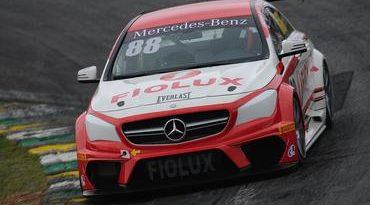 Mercedes-Benz Challenge : Dupla Fernando Amorim/Renan Guerra lidera primeiro treino em Interlagos