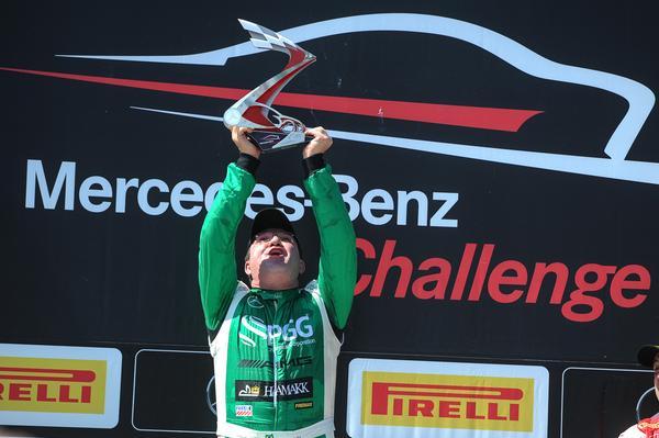 Mercedes-Benz Challenge: Raijan Mascarello conquista primeira vitória na CLA AMG Cup