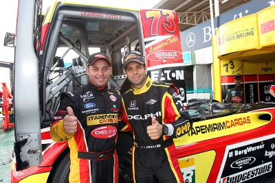 Truck: Vitor Meira testa Fórmula Truck em Brasília