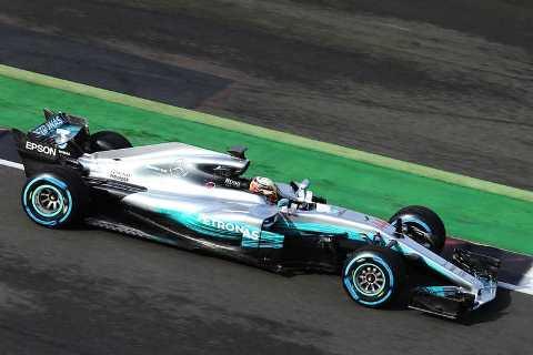F1: Mercedes lança o W08