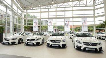 Mercedes-Benz Challenge: Pilotos recebem carros do Mercedes-Benz Challenge