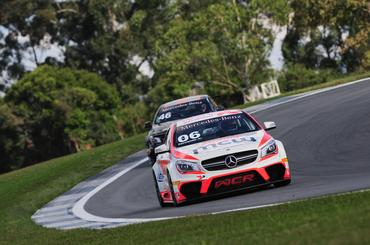 Mercedes-Benz Challenge: Pilotos do sul do país dominam primeira fila da CLA AMG Cup