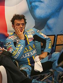 MotoGP: Azarado, Capirossi cai novamente e não disputa GP da Holanda