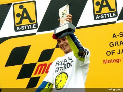 MotoGP: Valentino Rossi é campeão pela sexta vez