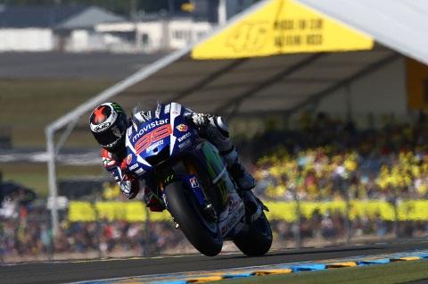 MotoGP: Jorge Lorenzo vence em Le Mans