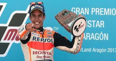 MotoGP: Marc Márquez vence em Alcañiz