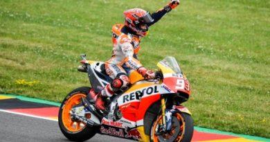 MotoGP: Marc Márquez vence GP da Alemanha e assume liderança do campeonato