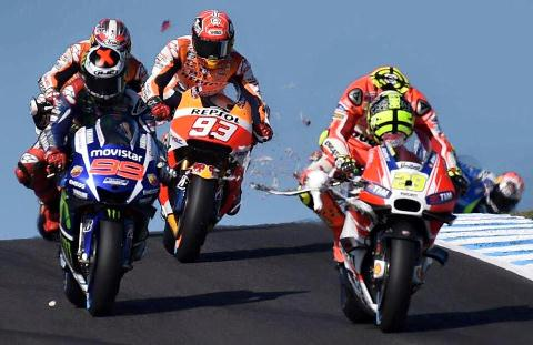 MotoGP: Marc Márquez vence na Austrália