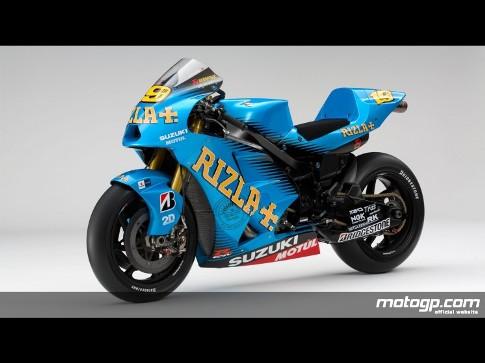 MotoGP: Rizla Suzuki revela decoração 2011 da GSV-R