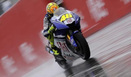 MotoGP: Valentino Rossi dispara na liderança do campeonato