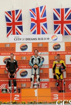 Macau Motorcycle Grand Prix: Michael Rutter vence pela sétima vez