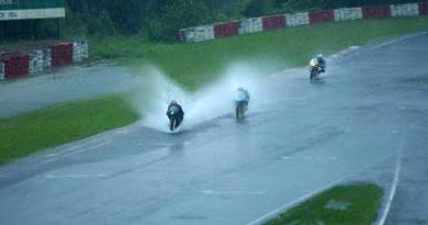 Motovelocidade: Excesso de chuva cancela a quinta etapa do Campeonato Brasileiro de Motovelocidade
