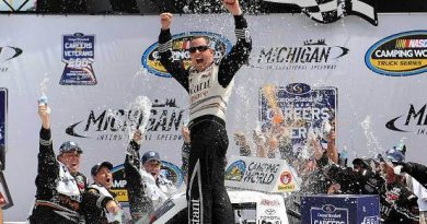 NASCAR Truck Series: Johnny Sauter vence em Michigan