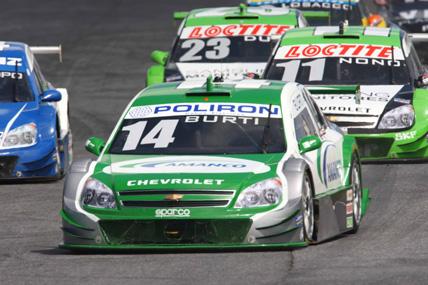 Stock: Luciano Burti é o piloto que mais ganhou posições na corrida deste domingo em Brasília