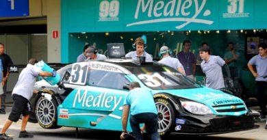 Stock: Corrida vira treino para pilotos da Medley