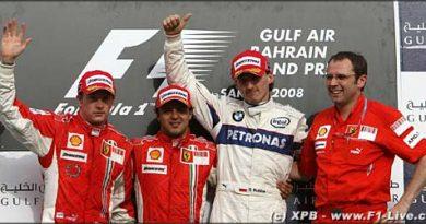 F1: Com tranqüilidade Massa vence no Bahrein