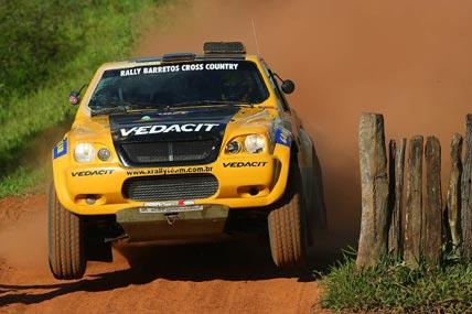Rally: Marcos Baumgart/Kleber Cincea ficam em 6º neste sábado no Brasileiro de Rally Cross Country