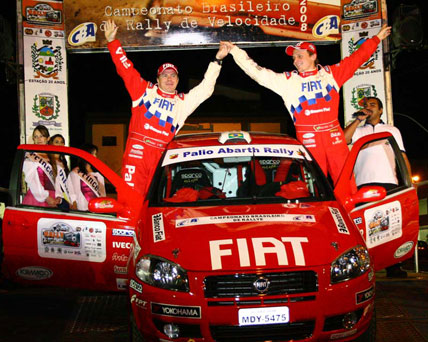 Rally: Vai começar a quinta etapa do Campeonato Brasileiro de Rally