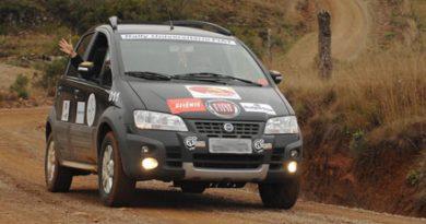 Rally: Rally Universitário Fiat esquenta Caxias do Sul