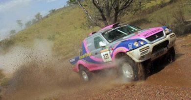 Rally: Helena e Gislaine, dupla feminina do Rally Brasil, comemoram 15ª colocação