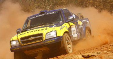 Rally: Marlon Koerich e Bruno Mega fazem o terceiro melhor tempo no Rally dos Sertões