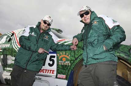 Rally: Volkswagen confirma participação e anima o adversário Palmeirinha no Sertões 2008