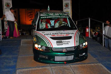 Rally: Equipe Palmeirinha Rally teve de abandonar o Rally de Estação