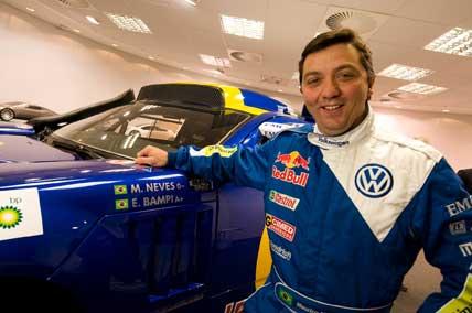 Rally: Volkswagen Brasil apresenta Maurício Neves como piloto oficial da marca para o Sertões 2009