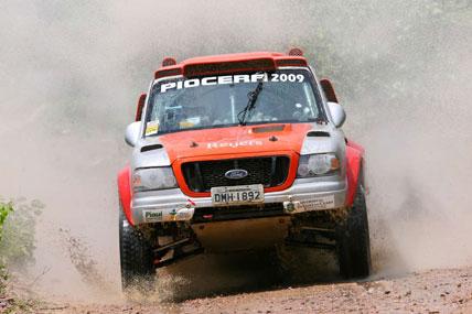 Rally: Adrenalina e alta velocidade foram as características do VeloPiocerá 2009