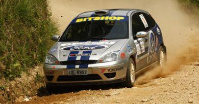 Rally: Irmãos Sartori buscam primeiros pontos no Brasileiro 2009