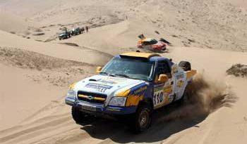 Rally: Dupla da Chevrolet continuam em 2º no Mundial