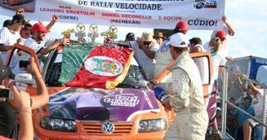 Rally: Um dia para o RS reverenciar seus campeões. Brustolin e Cecconello vencem o Brasileiro de Rali