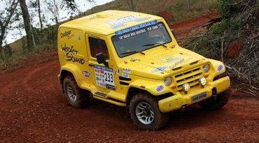 Carro da Equipe Codipar Racing quebra na última especial da 5ª Etapa do RallySP