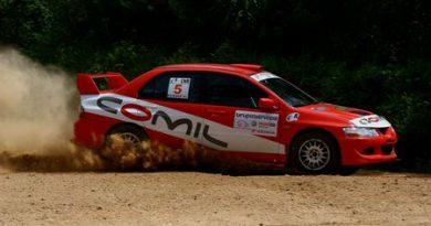 Rally: Milton e André Pagliosa são campeões do Paranaense de Rally