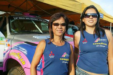Rally: Helena Deyama e Gislaine Garcia comemoram o bom desempenho na quinta etapa do Rally dos Sertões