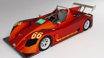 Spyder Race Brasileiro: Novo carro para 2012 é apresentado