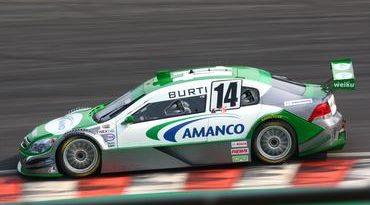 Stock: Batida prejudica corrida de Luciano Burti em Interlagos