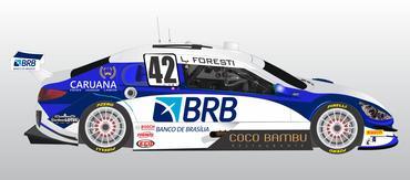 Stock: Brasiliense Lucas Foresti estreia pela RC3 Bassani Racing