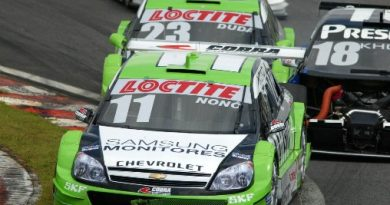 Stock: Nonô abre temporada com quinto lugar