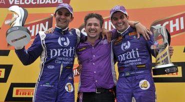 Stock Car: Júlio Campos e Antônio Pizzonia vencem em Tarumã