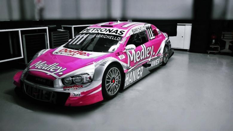 Stock: Carro de Barrichello vira Rosa contra o Câncer