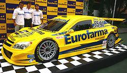 Stock: Equipe do atual campeão da Stock apresenta carro para 2009