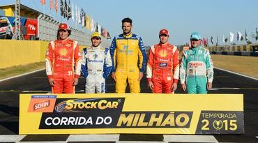 Stock: Thiago Camilo confirmado na Corrida do Milhão