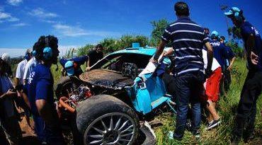 Stock: Xandinho Negrão sofre acidente em treinos coletivos da Stock Car em Piracicaba