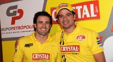 Stock: Zonta e Ricci formam dupla de histórico forte na Crystal Racing Team