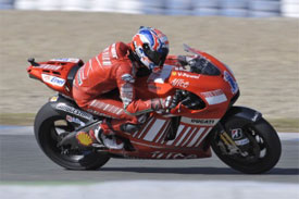 MotoGP: Casey Stoner lidera testes de domingo
