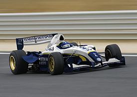 Superleague Fórmula: GTA irá cuidar do carro do Tottenham