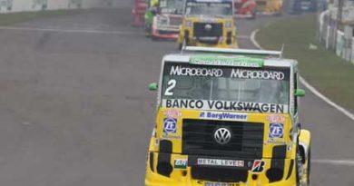Truck: Benavides e Giaffone colocam dois caminhões Volkswagen entre os três primeiros