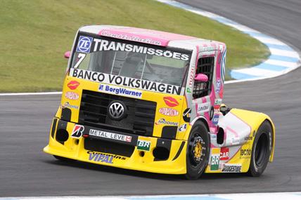 Truck: Débora Rodrigues faz prova de recuperação e marca pontos para Volkswagen