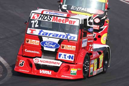Truck: Djalma Fogaça conquista primeiro pódio do motor eletrônico da Ford em Londrina